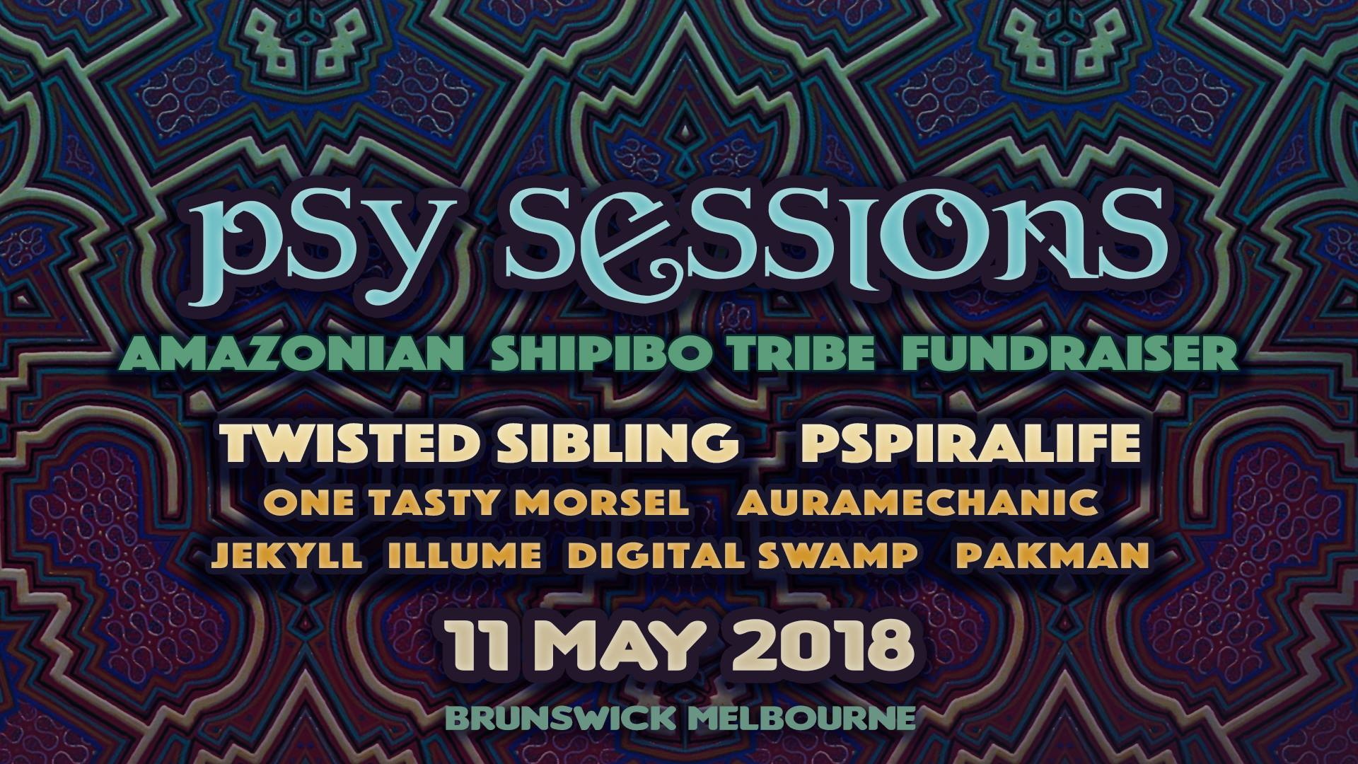 Psy Sessions - Shipibo Fundraiser 2018